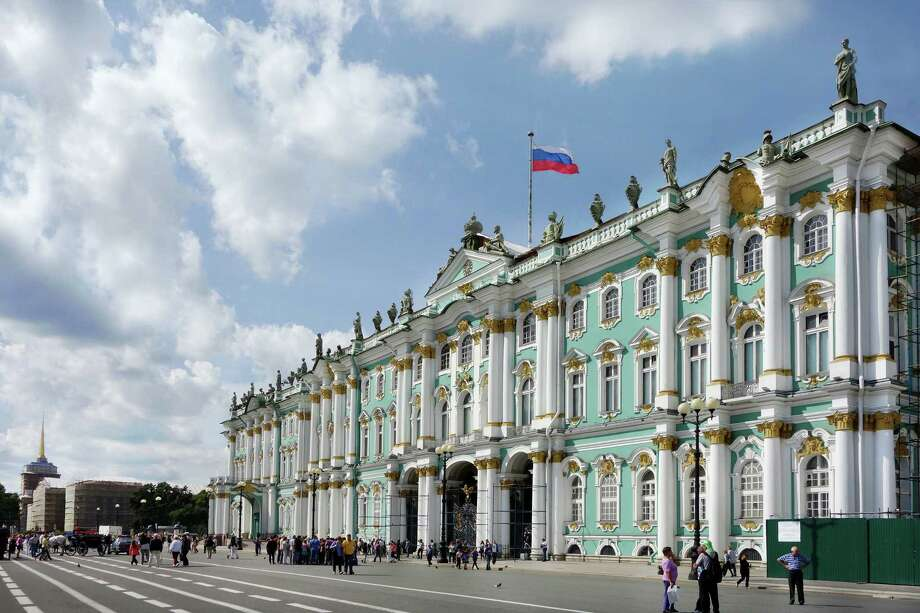 St. Petersburg's enormous Winter Palace, once the home of the czars, is now the home of the Hermitage Museum. Photo: Rick Steves / © Rick Steves Europe  (www.ricksteves.com)