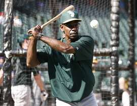 Oakland Athletics coach Ron Washington during batting practice before the Texas Rangers welcome the A's on Tuesday, June 23, 2015, at Globe Life Park in Arlington, Texas. (Jim Cowsert/Fort Worth Star-Telegram/TNS)