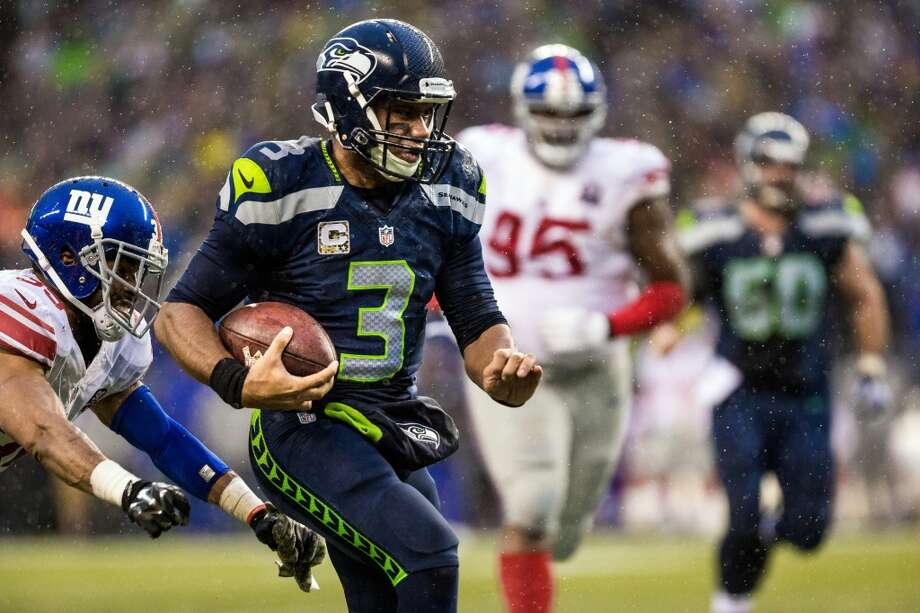 Overrated: Russell Wilson Quarterback | Wisconsin | Fourth yearNotes: It's hard to come up with a group of overrated players on the Seahawks roster, which is why Wilson is making his second straight appearance on our list. It's undeniable that the 26-year-old has developed into one of the better quarterbacks in the league, but he still has stretches where he's simply too inconsistent to be considered elite. Wilson also looks to run too quickly sometimes, which can lead to him missing open receivers downfield. Photo: Jordan Stead, Seattlepi.com