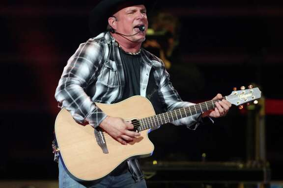 Garth Brooks performs at the Toyota Center Friday, June 26, 2015, in Houston.