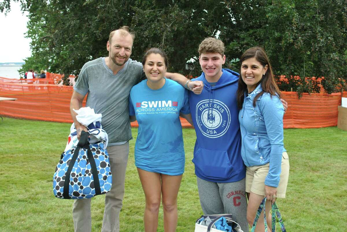 The annual Greenwich-Stamford Swim Across America fundraiser for cancer research took place on June 28, 2015 in Stamford. Were you SEEN?