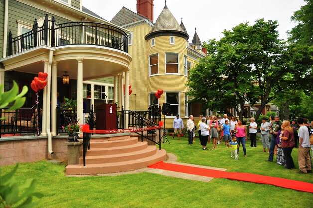 The newest of three Ronald McDonald Houses in Albany, left ...