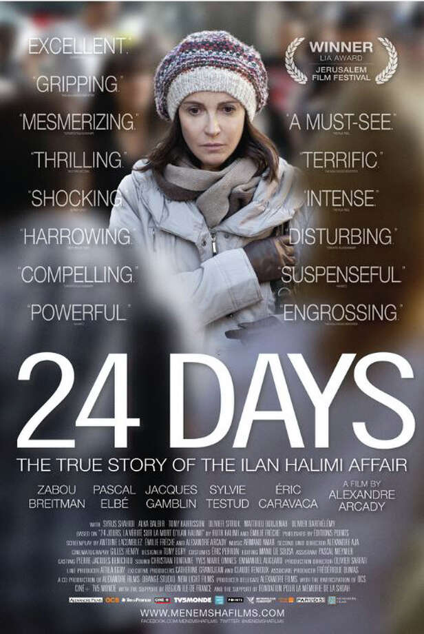 The Greenwich JCC will screen '24 Days,' a film that sparked a national debate about anti-Semitism in France, in Greenwich Monday. Photo: Contributed / Contributed Photo / Greenwich Time Contributed