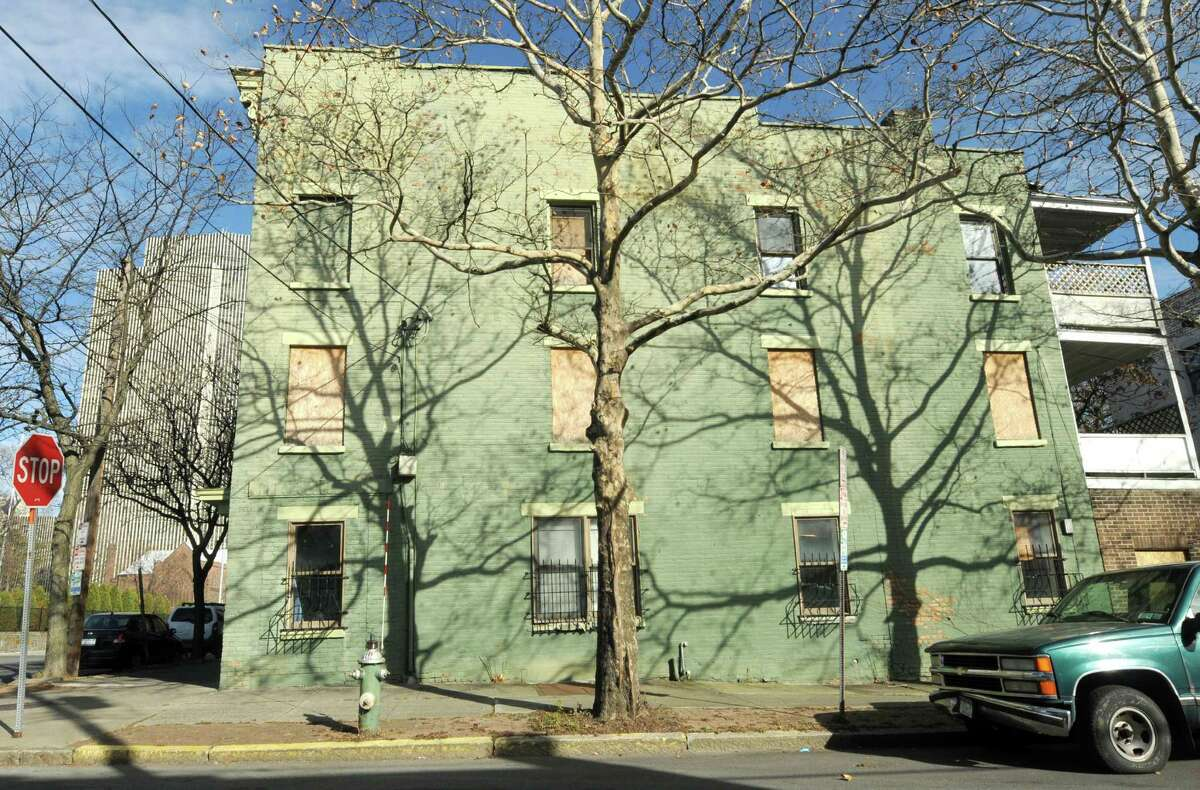 A vacant building in Albany's South End. (Times Union archive) ORG XMIT: MER2013112511520858