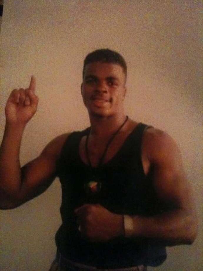 Ricky Thomas is shown during his boxing career. (Photo courtesy William Graham) ORG XMIT: n-1MdLJ963jUF4T_xs5Y