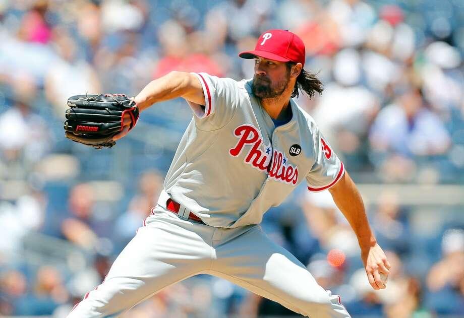Cole Hamels, SP, Phillies  Photo: Jim McIsaac, Getty Images