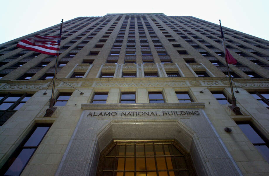 METRO The Alamo National Building at 105 S St Mary's Street. STAFF GLORIA FERNIZ Photo: GLORIA FERNIZ, STAFF / SAN ANTONIO EXPRESS-NEWS / SAN ANTONIO EXPRESS-NEWS