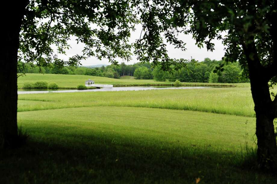 A view of a piece of land that will possibly be used for a gas pipeline on Thursday, June 3, 2015, in Nassau, N.Y.  Northeast Energy Direct has proposed to build a pipeline through this area.  Part of the pipeline construction would include a compressor station consisting of three 30,000 horsepower turbines.  Residents who are against the pipeline says that this is the general area where they believe the compressor station would be built.      (Paul Buckowski / Times Union archive) Photo: PAUL BUCKOWSKI / 00032087A