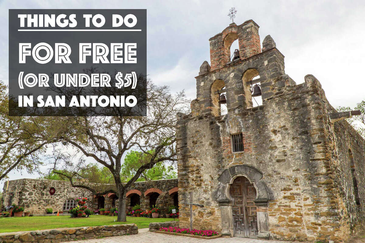 Mission Espada: The mission is free year-round from 9 a.m. to 5 p.m. except on Thanksgiving Day, Christmas Day and New Year's Day. Mission Espada; 10040 Espada Rd.; 210-932-1001; nps.gov.