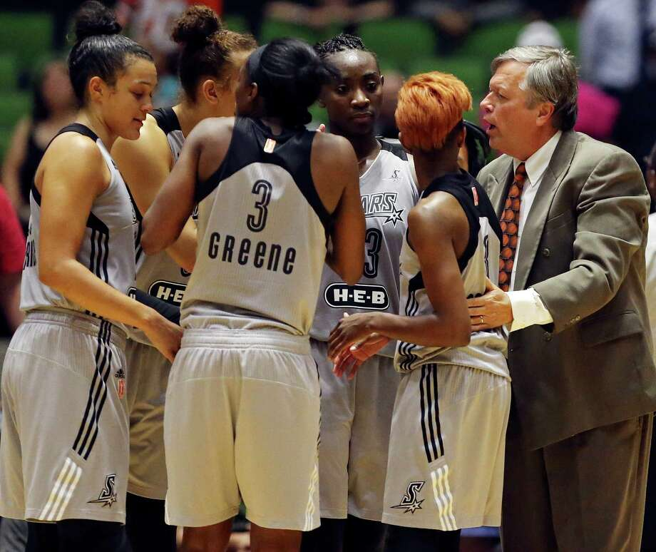 Coach Dan Hughes and his Stars, who started the season 0-6 while several key players battled injuries, have won five straight home games and are 5-12 going into the second half. Photo: Edward A. Ornelas / San Antonio Express-News / © 2015 San Antonio Express-News