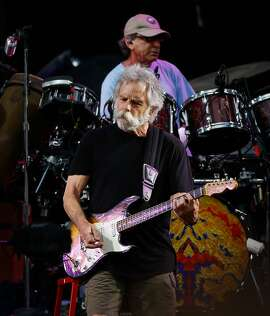 "Bob Wier of the Grateful Dead performs during the first show of the band's ""Fare Thee Well"" tour at Levi's Stadium in Santa Clara, California, on Saturday, June 27, 2015. The tour celebrates the 50th anniversary of the band."