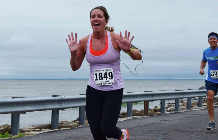 The Faxon Law Group Fairfield half marathon took place on June 28, 2015 at Jennings Beach in Fairfield. Were you SEEN? Photo: Todd Tracy / Hearst Connecticut Media Group
