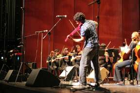 """The Youth Orchestra of San Antonio gave an awesome rendition of Radiohead's 1997 album """"OK Computer"""" to packed house at the Tobin Center for the Performing Arts on Saturday."""
