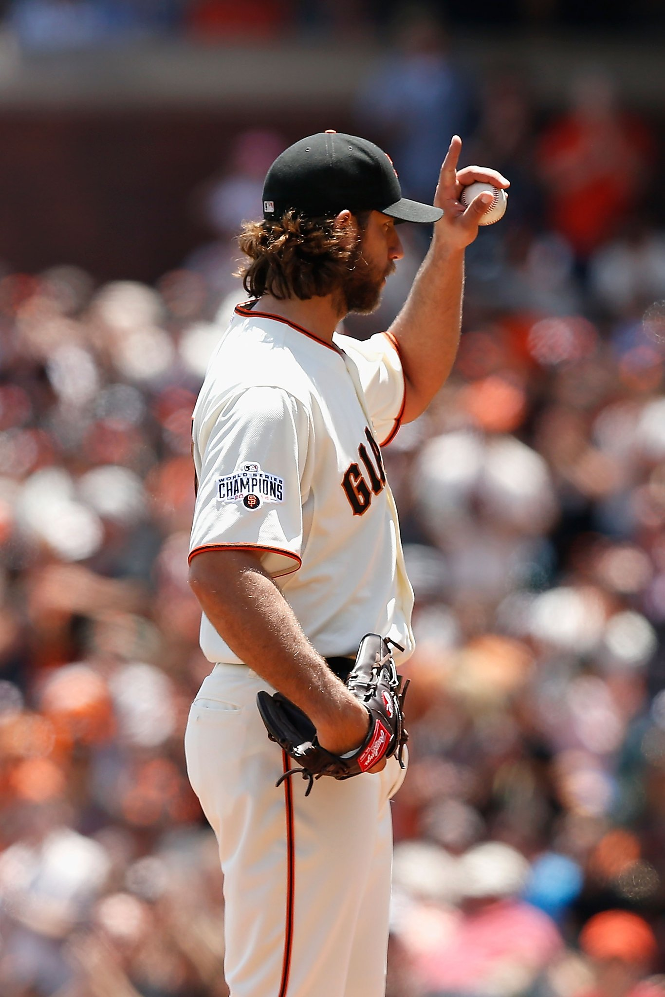 Offense does its job; Bumgarner reaches strikeout milestone