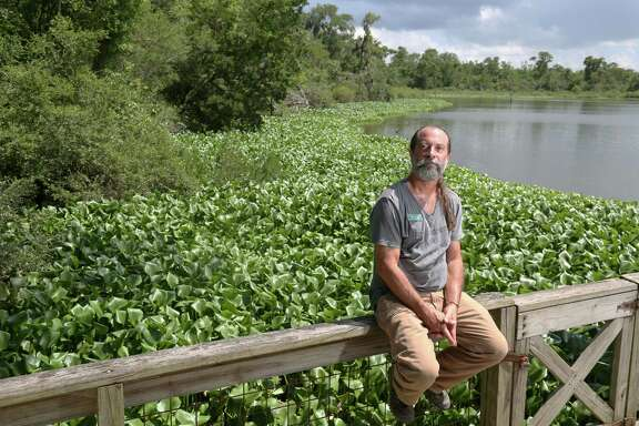 Mark Kramer received an award last month from the Bayou Preservation Association for his work at Armand Bayou in Pasadena.