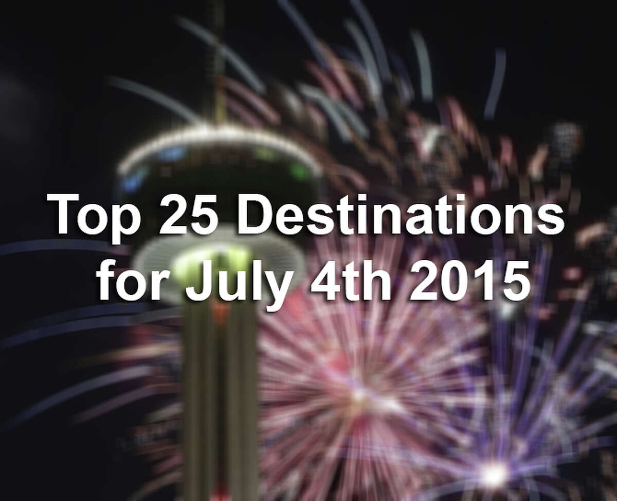 Priceline.com has released its Top 25 destinations for the July 4th weekend. The list is based on the number of hotel reservations in each city for the holiday weekend. They also list the average daily hotel rate for each city from the day the list was released on June 24.
