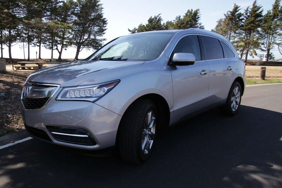The 2016 Acura MDX sport utility vehicle.  Prices range from less than $43,000 (front-wheel-drive base model) to the $58,000 price of our AWD test vehicle.