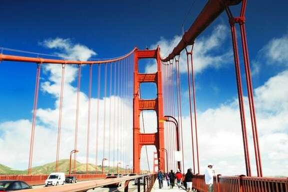 Golden Gate Bridge: Walk across it and take in the sweeping views.