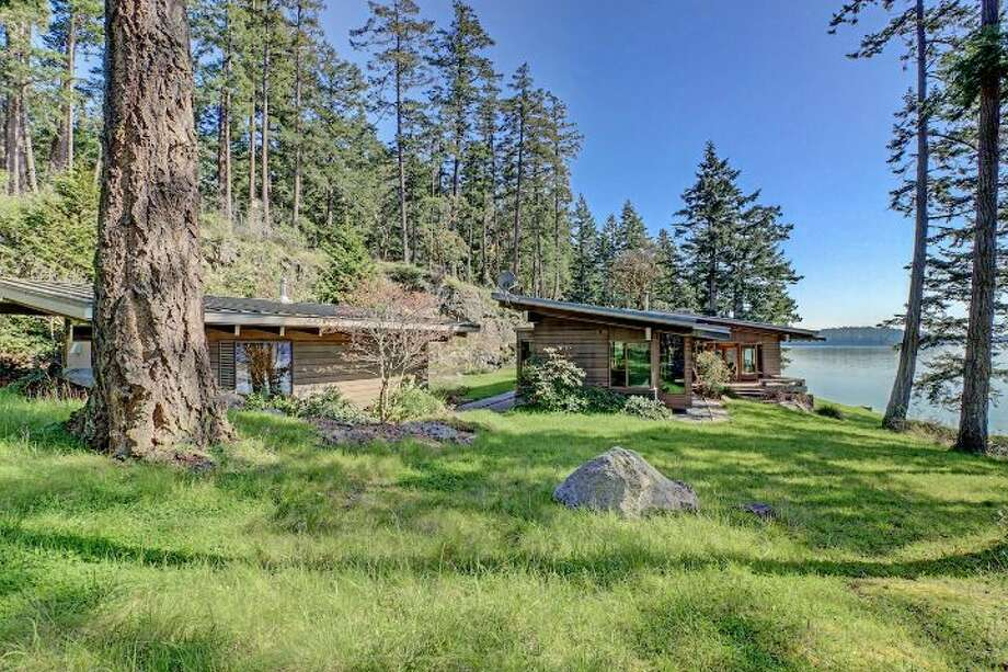 This home at 2027 Neck Point Road on Shaw Island, Washington, was designed by George Suyama. It has 54 acres, more than 2,100 feet of waterfront and two private beaches. The property is listed for $4.75 million. For the full listing, go here. Photo: Saci Meade