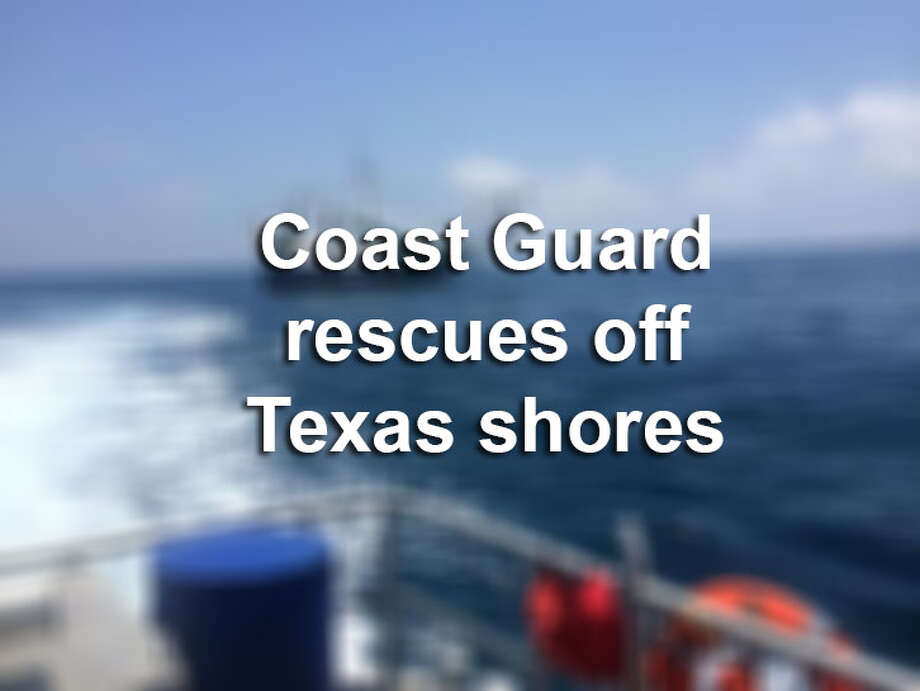 Explore U.S. Coast Guard rescues off Texas shores.