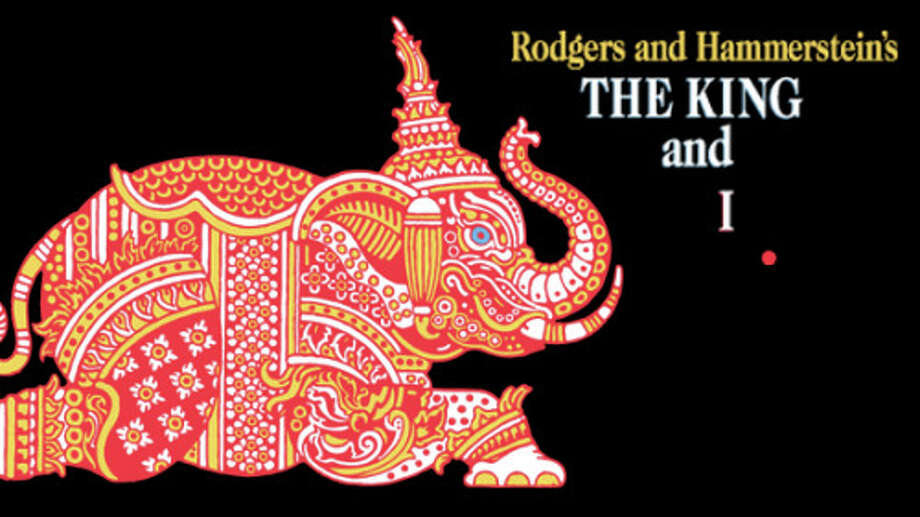 "Art from a ""King and I"" playbill."