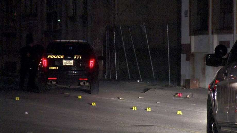 A man was rushed to the San Antonio Military Medical Center Sunday night after being shot three times on the West Side. Photo: 21 Pro Video
