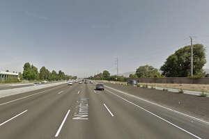 Man struck and killed after freeway fender-bender - Photo