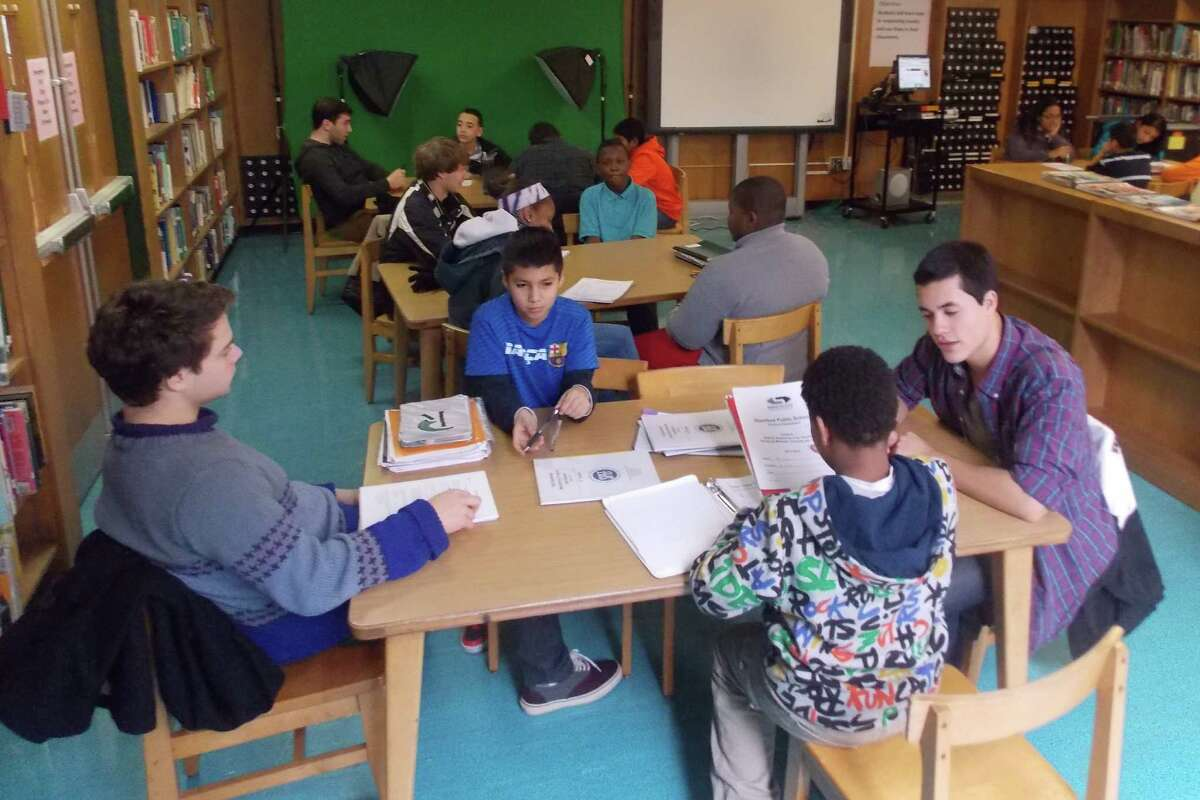 Mentors from the Stamford Public Education Foundation have aided 175 middle school and 75 high school students during the 2014-15 school year