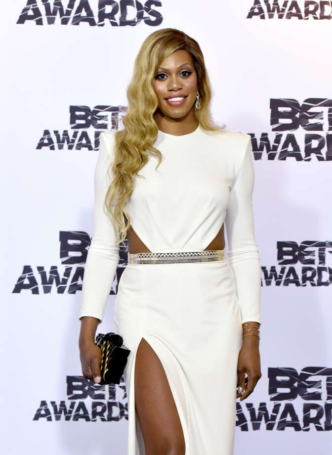 "Mya Taylor is the latest in a growing field of transgender actresses on film and TV. They include:LAVERNE COXEmmy-nominated star of ""Orange is the New Black."" Photo: Getty Images For BET"