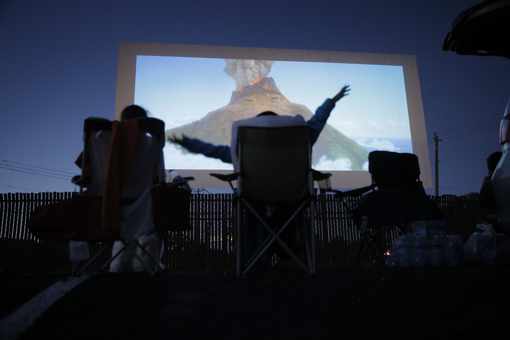 Rolling Back The Decades At The Bay Area S Drive In Theaters Sfchronicle Com