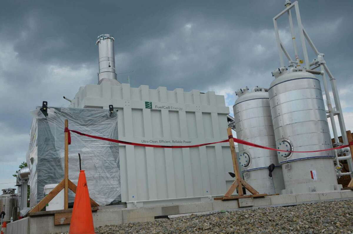 Bridgeport's Clean Energy Park is on the site of a former landfill near Seaside Park.
