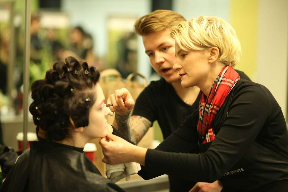 The newly redesigned Cinta Aveda Institute in San Francisco offers high-end services by its students at a bargain price. Photo: Cinta Aveda Institute
