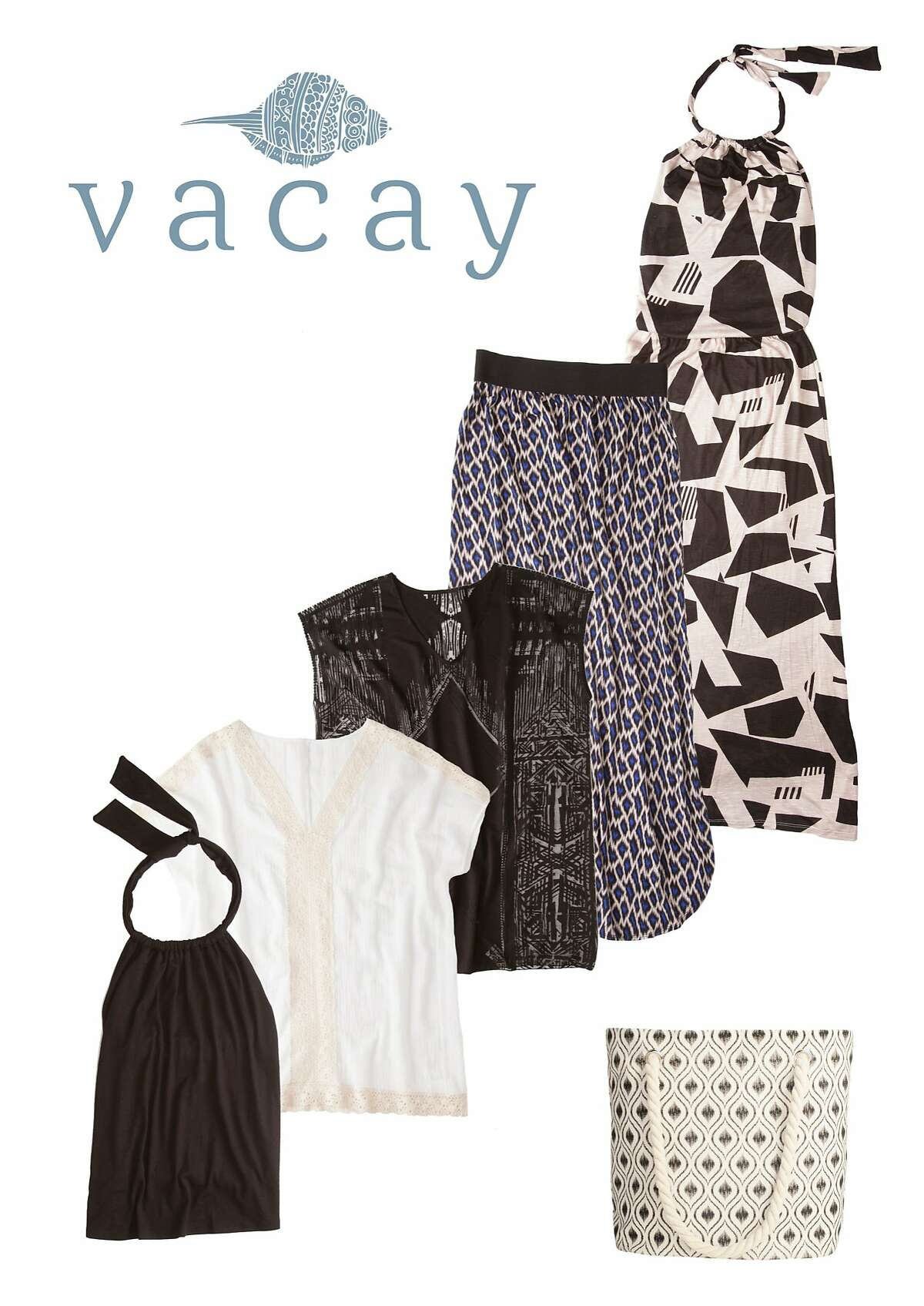Vacay's new five-piece Fiji collection comes out July 5 and is available at http://vacaystyle.com/.