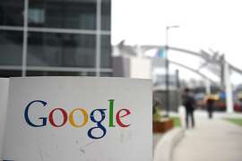 ((FILES)This February 20, 2015 file photo shows the Google logo at the Google campus in Mountain View, California.  Google announced June 24, 2015 it was teaming up with university scientists to use its computing platform to accelerate efforts in genomics research. The US tech giant said it was joining with the Broad Institute of biomedical and genomic research, a project of Harvard University and the Massachusetts Institute of Technology. AFP PHOTO / SUSANA BATESSUSANA BATES/AFP/Getty Images