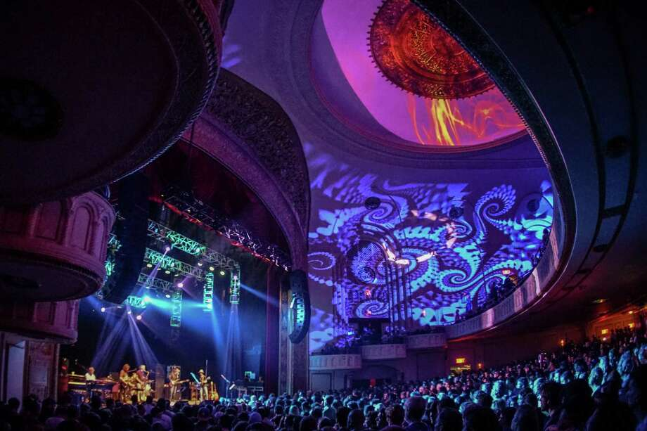"The Capitol Theatre in Port Chester, N.Y., will host three nights of ""Fare Thee Well,"" a high-definition, live simulcast of the Grateful Dead's final concerts, Friday, July 3, to Sunday, July 5, in Chicago's Soldier Field as part of its 50th anniversary tour. It is one of several venues in the area showing one or all three nights of music. Photo: Contributed Photo / Stamford Advocate Contributed"
