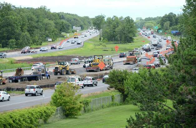 Northway traffic moves between Exits 4 and 5 looking north Monday, June 29, 2015, in Colonie, N.Y. (Will Waldron/Times Union) Photo: WW / 00032427A