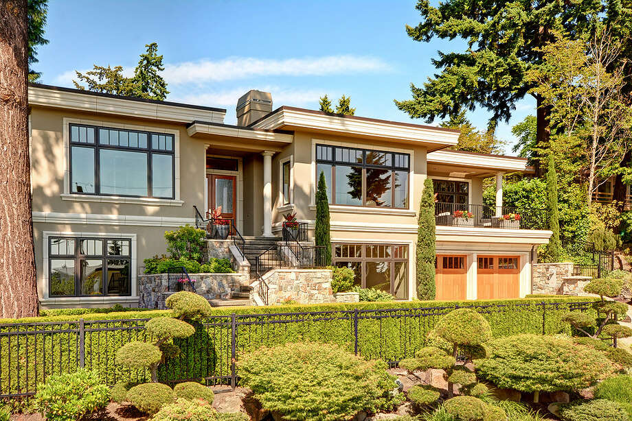 It may not look like a a typical castle, but the King did live here. Mariners star pitcher Felix Herndanez bought this Bellevue home in 2010 and has listed it for $3.8 million. For the full listing, go here. Photo: Vista Estate Imaging