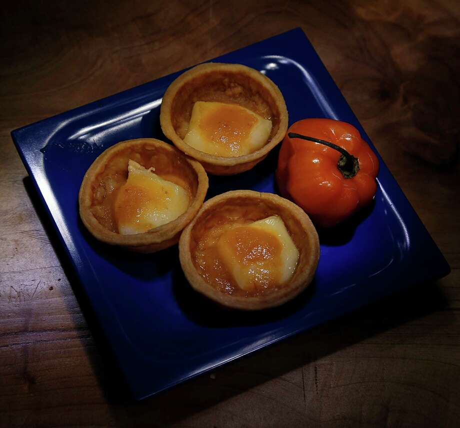 Phyllo and Brie Cups contain habanero sauce. Photo: James Nielsen, Staff / © 2015  Houston Chronicle