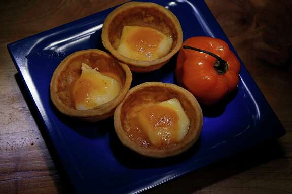 Phyllo and Brie Cups contain habanero sauce.