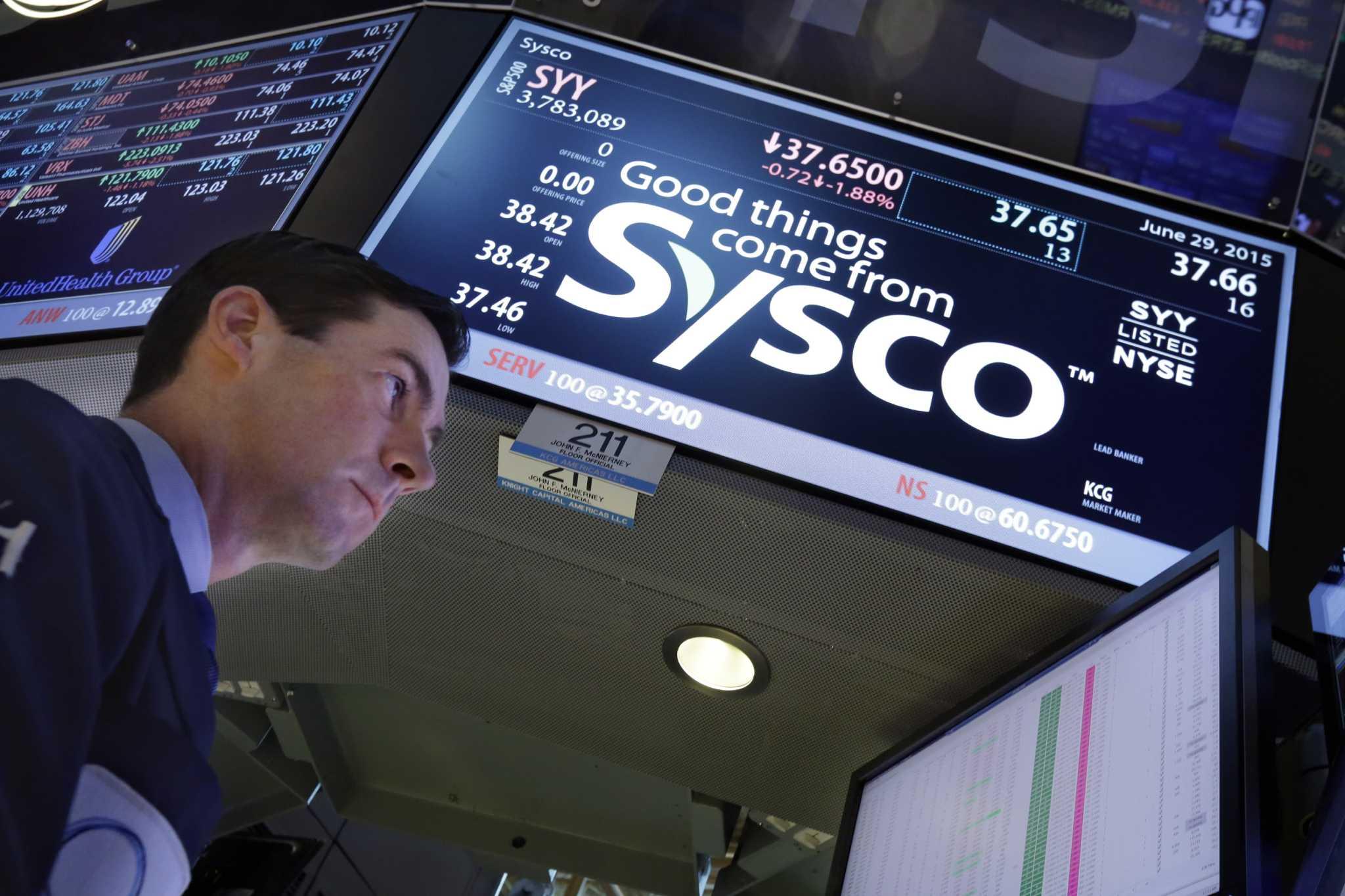 Sysco earnings jump 33 percent, beating Wall St  estimates