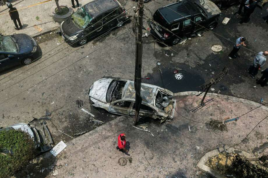 Egypt's top prosecutor died from internal bleeding due to injuries sustained Monday from a roadside bomb. Hisham Barakat is the most senior civilian official killed in Egypt since the military oust of President Mohammed Morsi. Photo: Xinhua, MBR / Sipa USA