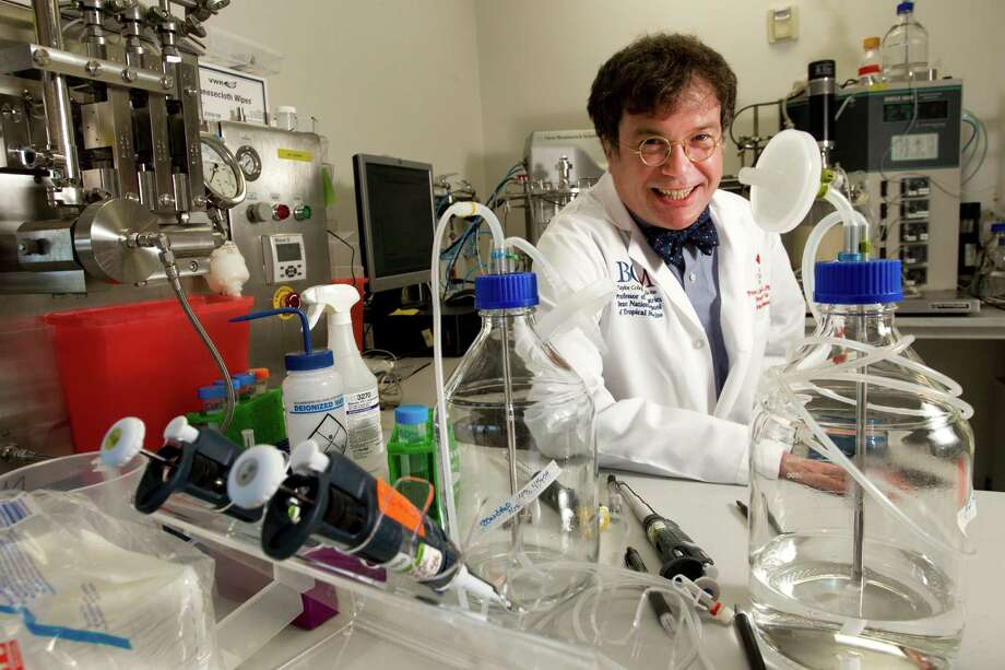 Dr. Peter Hotez, president of the Sabin Vaccine Institute and founding dean of the School of Tropical Medicine at Baylor College of Medicine. ( Brett Coomer / Houston Chronicle ) Photo: Brett Coomer, Staff / © 2012 Houston Chronicle
