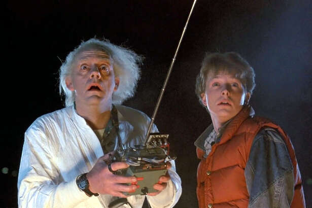 """The 1985 science-fiction comedy """"Back to the Future,"""" starring Michael J. Fox and Christopher Lloyd, is getting a free screening at the Avon Theatre in Stamford on Tuesday, March 25 at 8:30 p.m."""