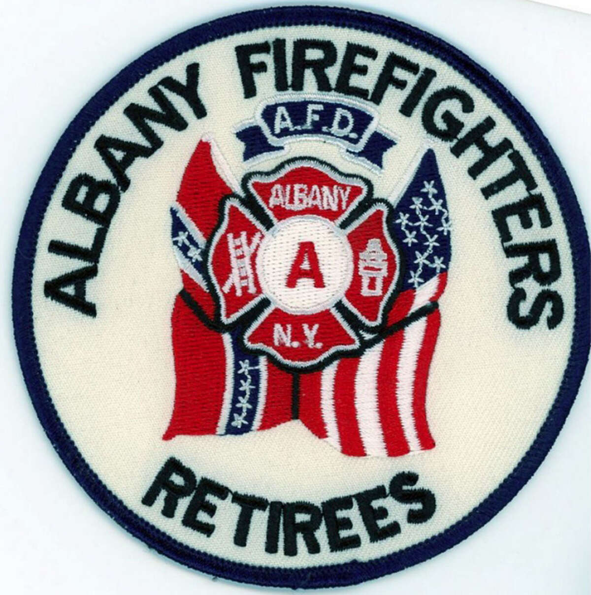The old Albany Permanent Professional Firefighters Association Local 2007 logo.