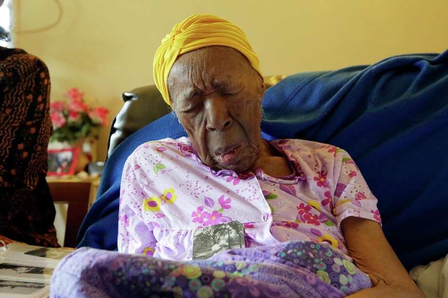 Susannah Mushatt Jones, whose 116th birthday is next week, lives in a one-bedroom apartment in Brooklyn, N.Y. Photo: Richard Drew /Associated Press / AP