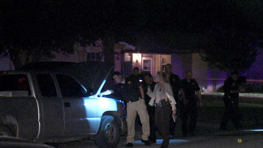 A man was injured Monday night after being shot in the back on the Northeast Side. Photo: 21 Pro Video