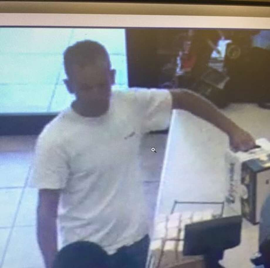 This man is wanted for allegedly stealing two coolers from a Buc-ee's store June 26 in New Braunfels. Photo: New Braunfels Police Department