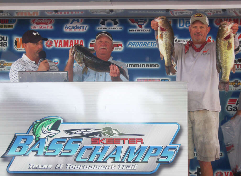 Randy Dearman and Brian Branum brought in the winning 23.90 lb sack to win $50,000 Photo by Patty Lenderman / Lakecaster