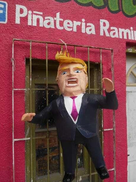 Un fabricante de piñatas de México hizo una de Donald Trump. Photo: F Piñateria Ramírez, @dalton_cjon