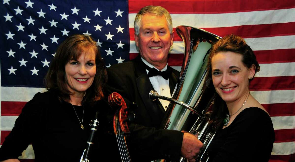 Fort Bend Symphony Orchestra musicians are Marilyn Conger, Coleman Locke and Aimee Norris. The symphony is once again invited to perform as part of the official Stafford July 4th celebration at the Stafford Centre. Fort Bend Symphony Orchestra musicians are Marilyn Conger, Coleman Locke and Aimee Norris. The symphony is once again invited to perform as part of the official Stafford July 4th celebration at the Stafford Centre.